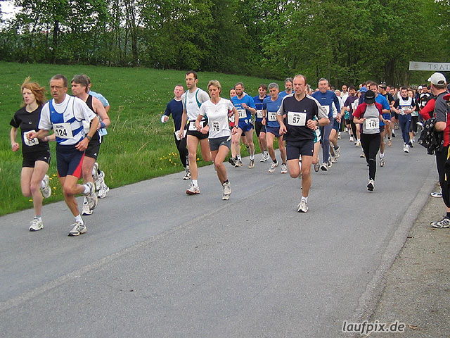 Bibertal-Lauf Rüthen 2004 - 2