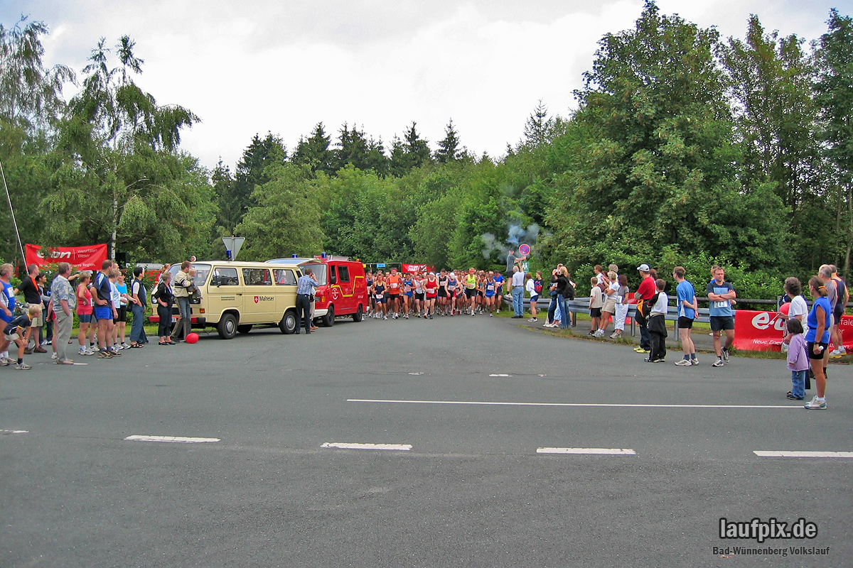 Volkslauf Aabach-Talsperre 2004 - 6