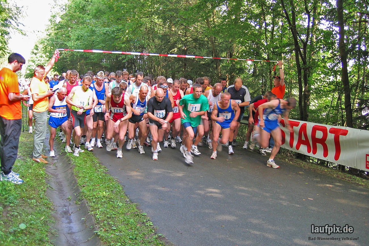 Volkslauf Aabach-Talsperre 2004 - 33