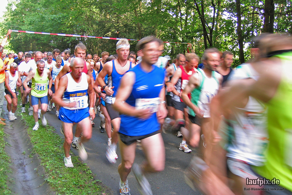 Volkslauf Aabach-Talsperre 2004 - 36