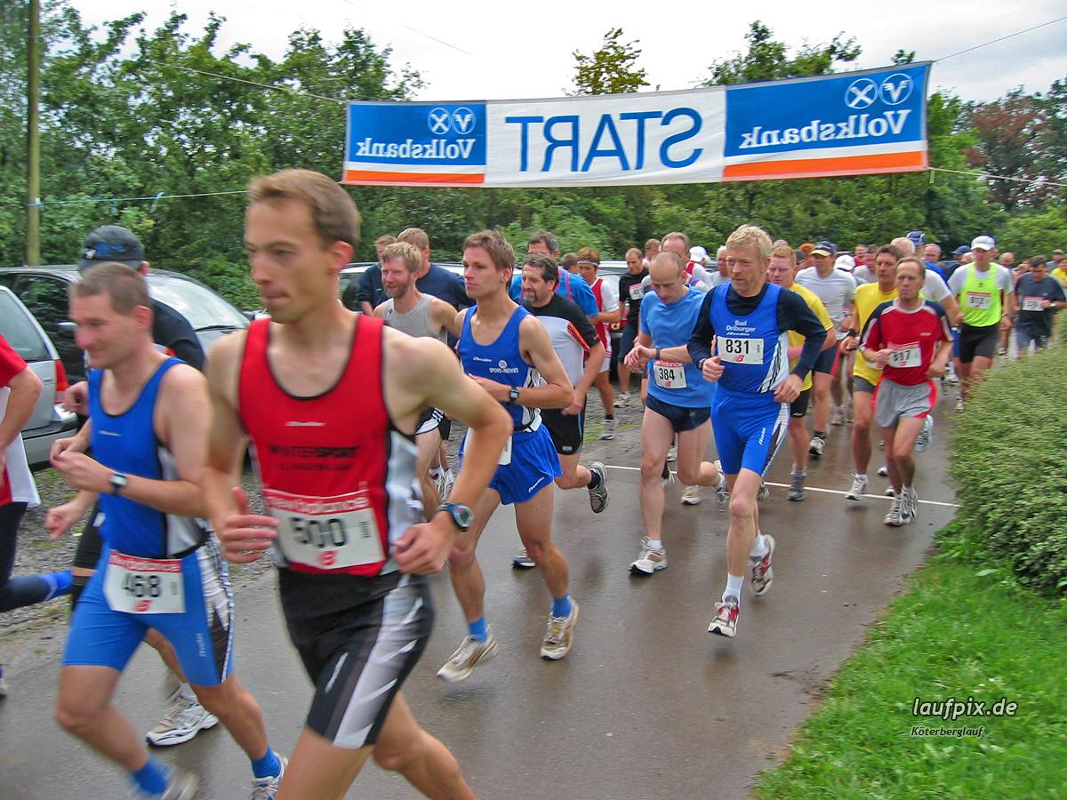 Köterberglauf Kollerbeck 2004 - 6