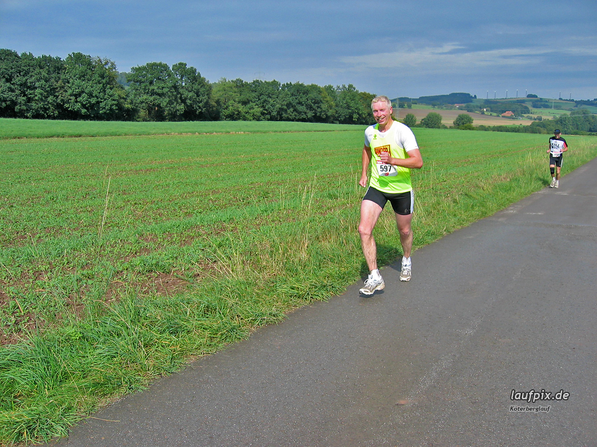 Köterberglauf Kollerbeck 2004 - 42