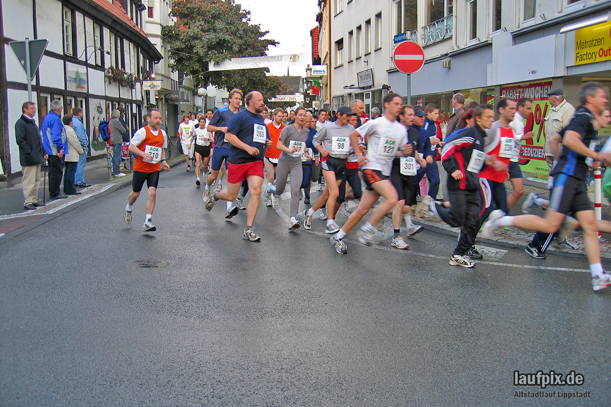 Altstadtlauf Lippstadt 2005 - 10