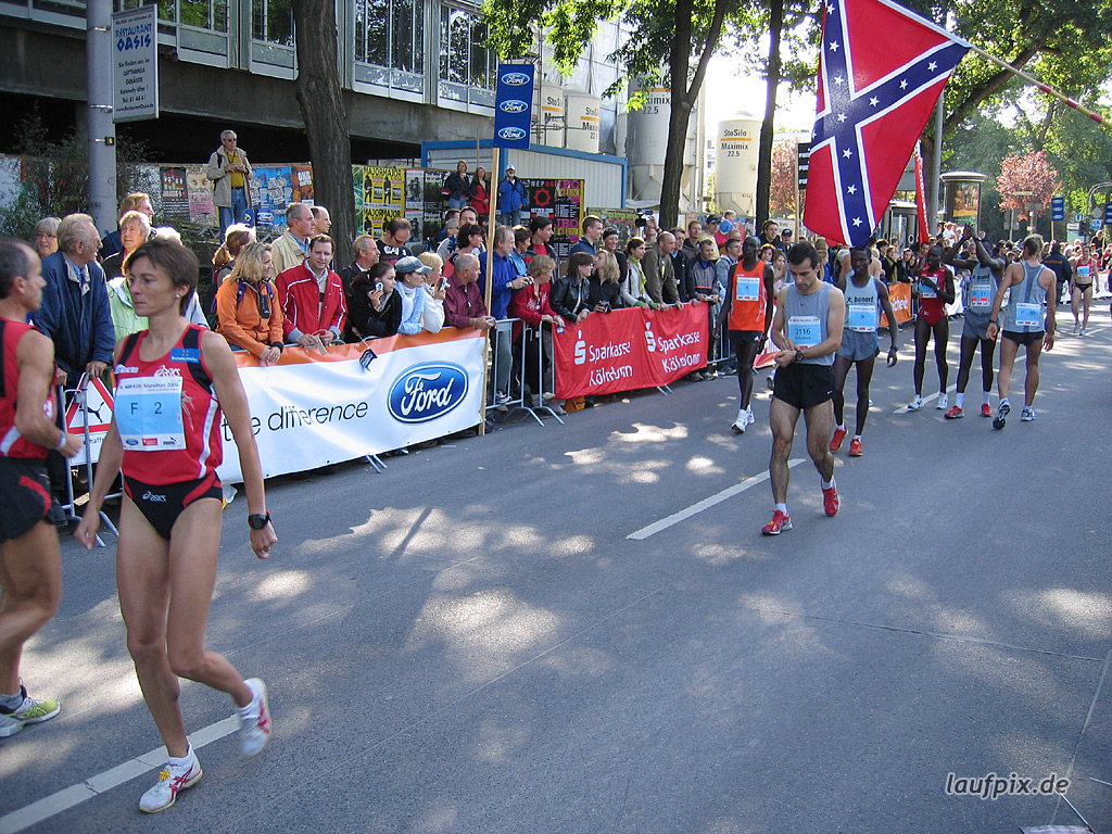 Köln Marathon 2006 Foto (22)