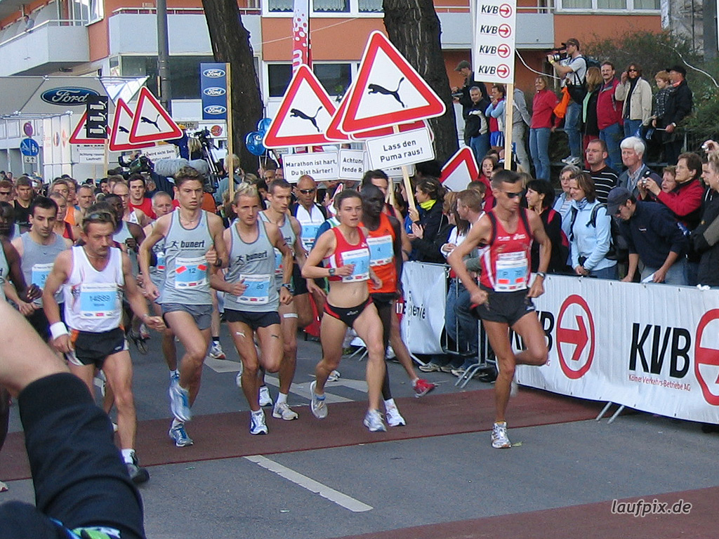 Köln Marathon 2006 Foto (23)