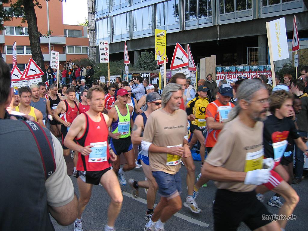 Köln Marathon 2006 - 30