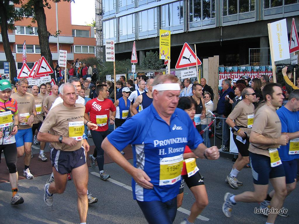 Köln Marathon 2006 - 40