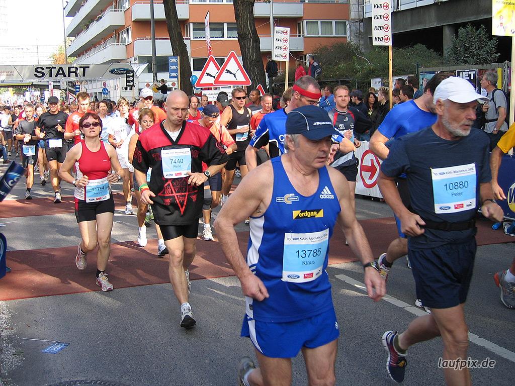 Köln Marathon 2006 Foto (224)
