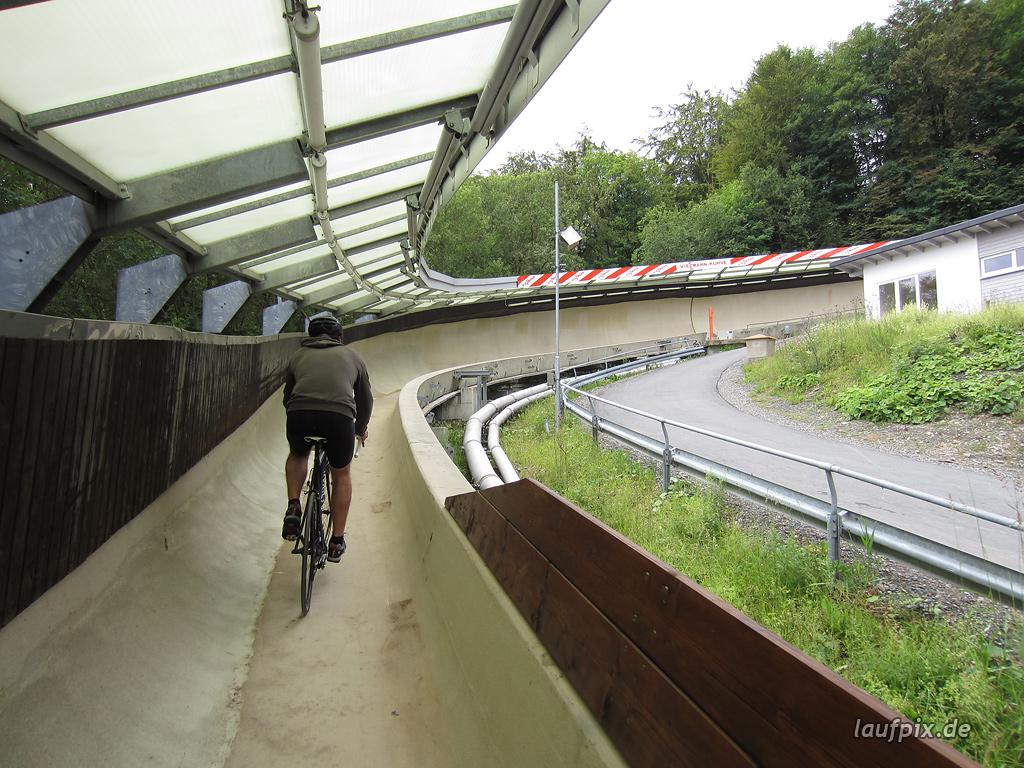 Bergzeitfahren Bobbahn Winterberg 2011 - 6