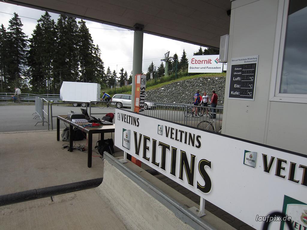 Bergzeitfahren Bobbahn Winterberg 2011 - 13