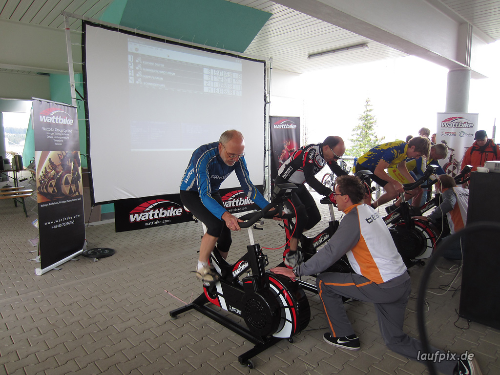 Bergzeitfahren Bobbahn Winterberg 2011 - 23