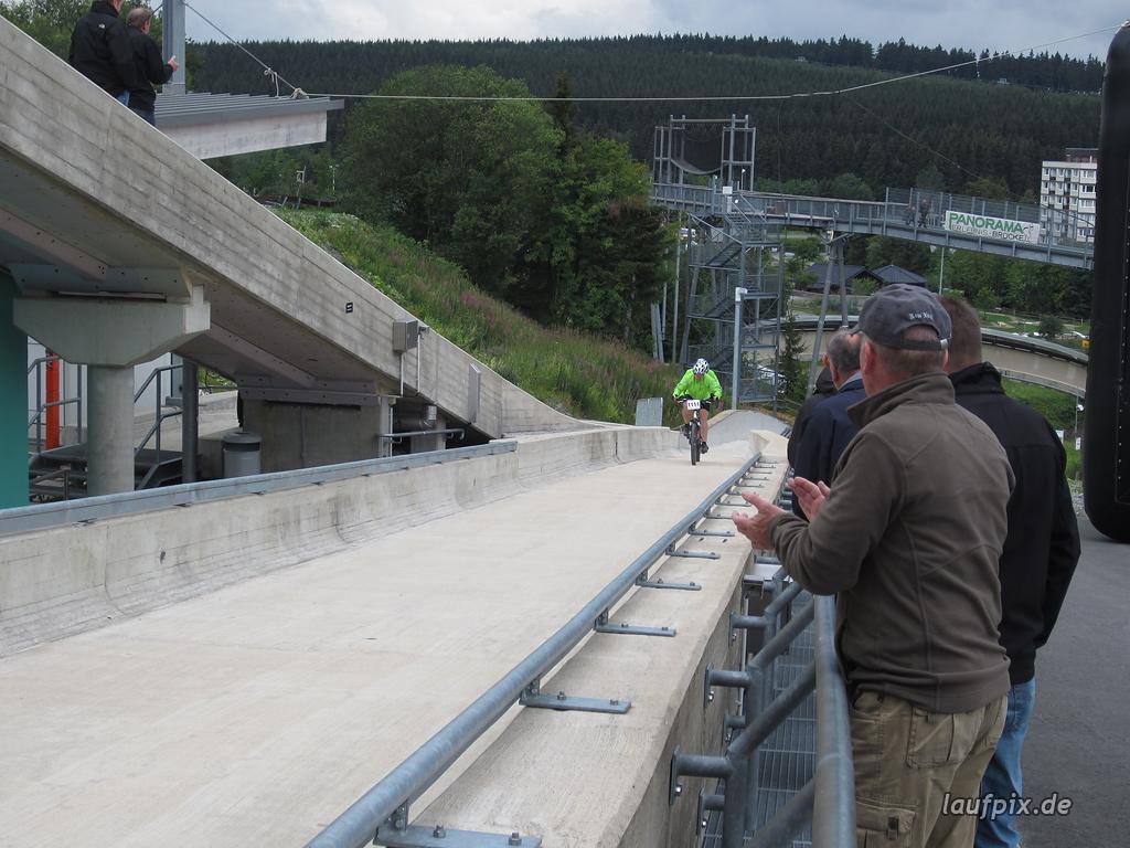 Bergzeitfahren Bobbahn Winterberg 2011 - 58
