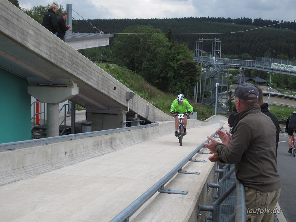 Bergzeitfahren Bobbahn Winterberg 2011 - 64