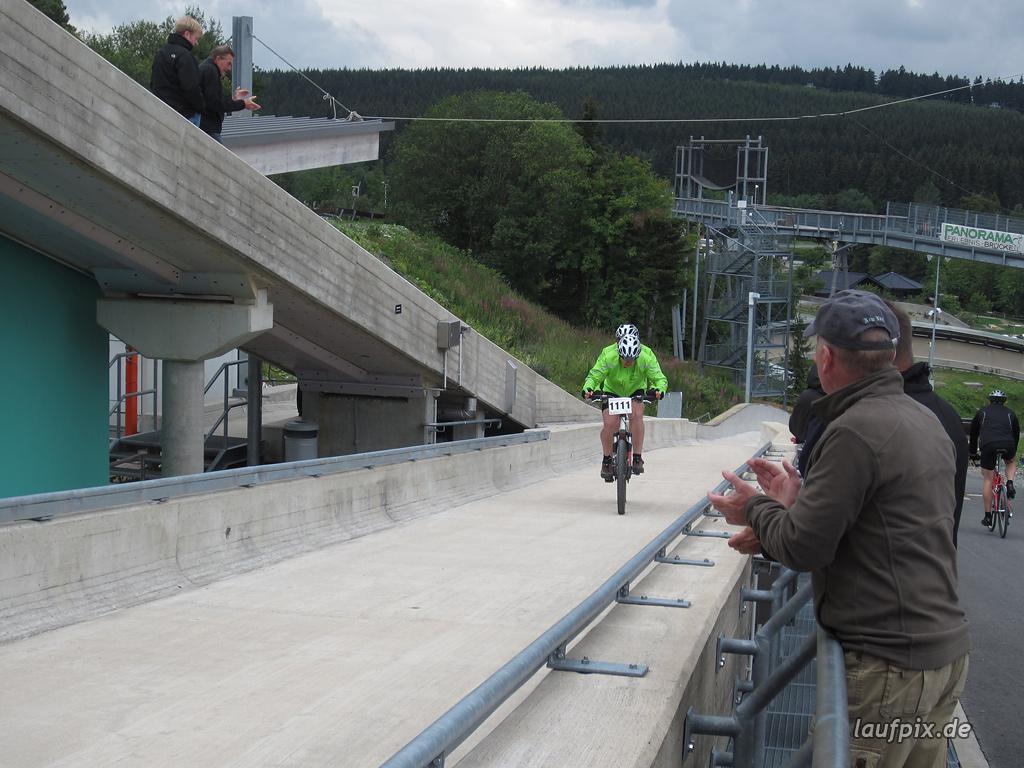 Bergzeitfahren Bobbahn Winterberg 2011 - 65
