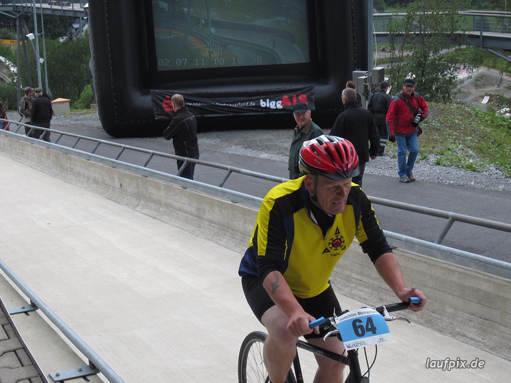 Bergzeitfahren Bobbahn Winterberg 2011 - 92