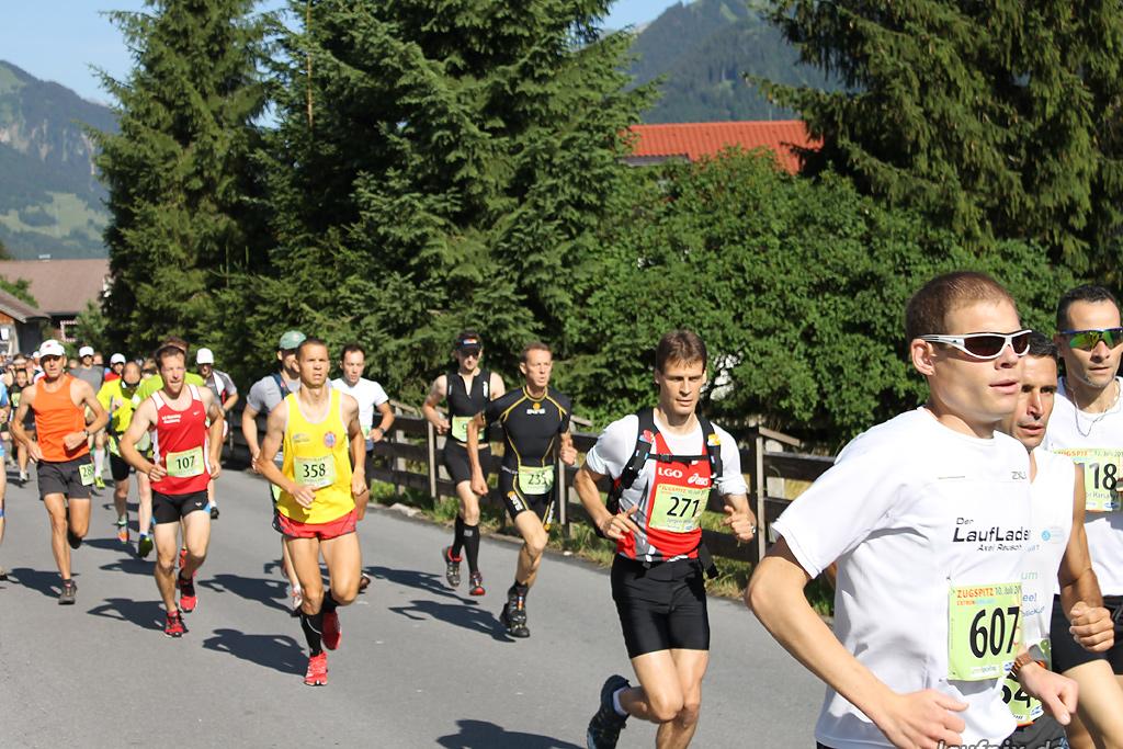 Zugspitz Extremberglauf - Start 2011 - 24