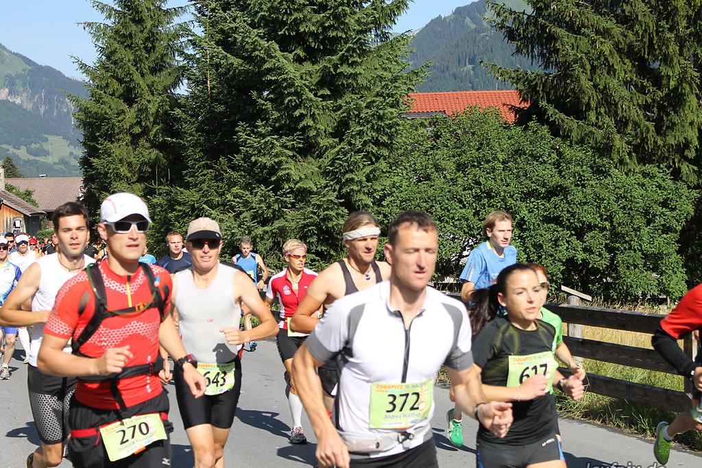 Zugspitz Extremberglauf - Start 2011 - 28