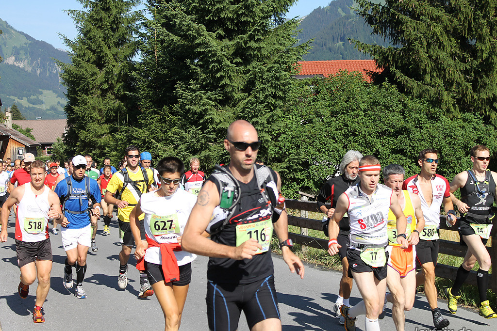 Zugspitz Extremberglauf - Start 2011 - 35