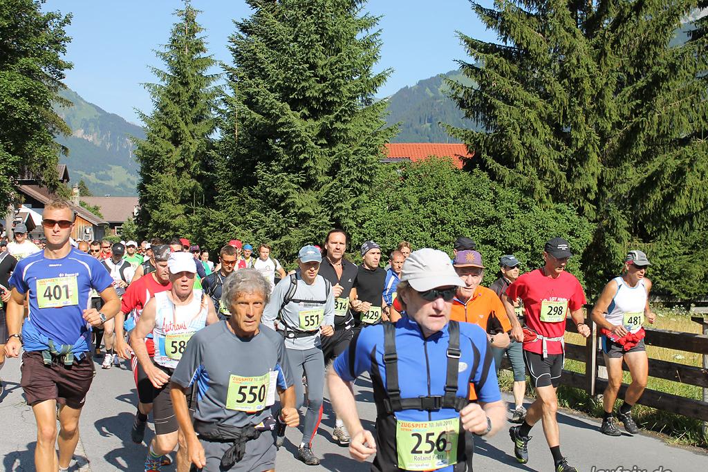 Zugspitz Extremberglauf - Start 2011 - 79