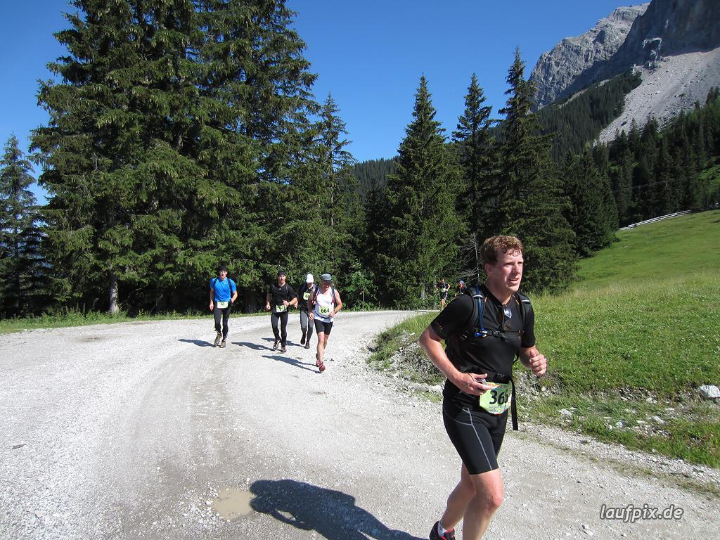 Zugspitzlauf Extremberglauf - Strecke 2011 - 19