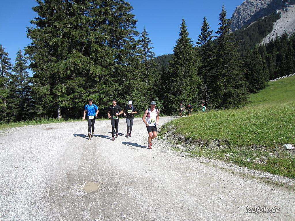 Zugspitzlauf Extremberglauf - Strecke 2011 - 21