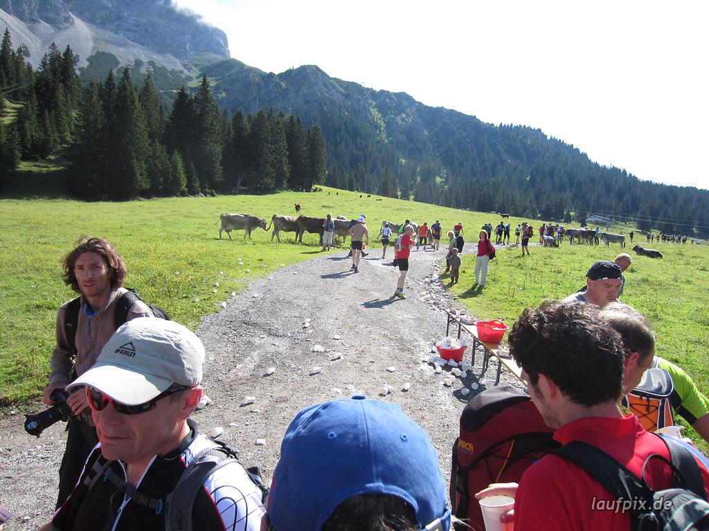Zugspitzlauf Extremberglauf - Strecke 2011 - 25