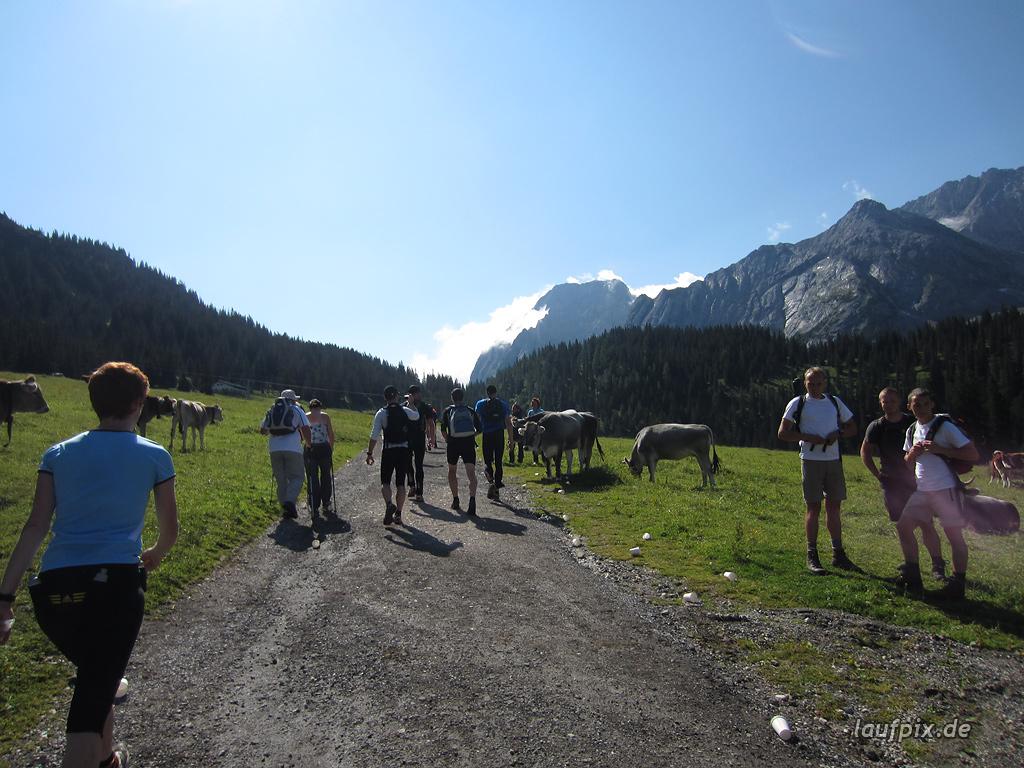 Zugspitzlauf Extremberglauf - Strecke 2011 - 31