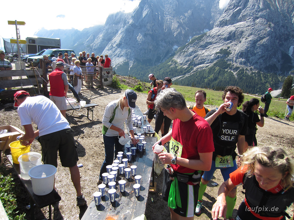 Zugspitzlauf Extremberglauf - Strecke 2011 - 69