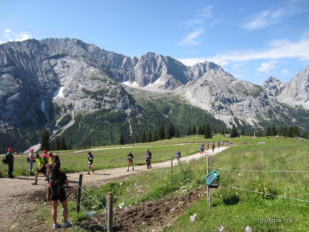 Zugspitzlauf Extremberglauf - Strecke 2011 - 72