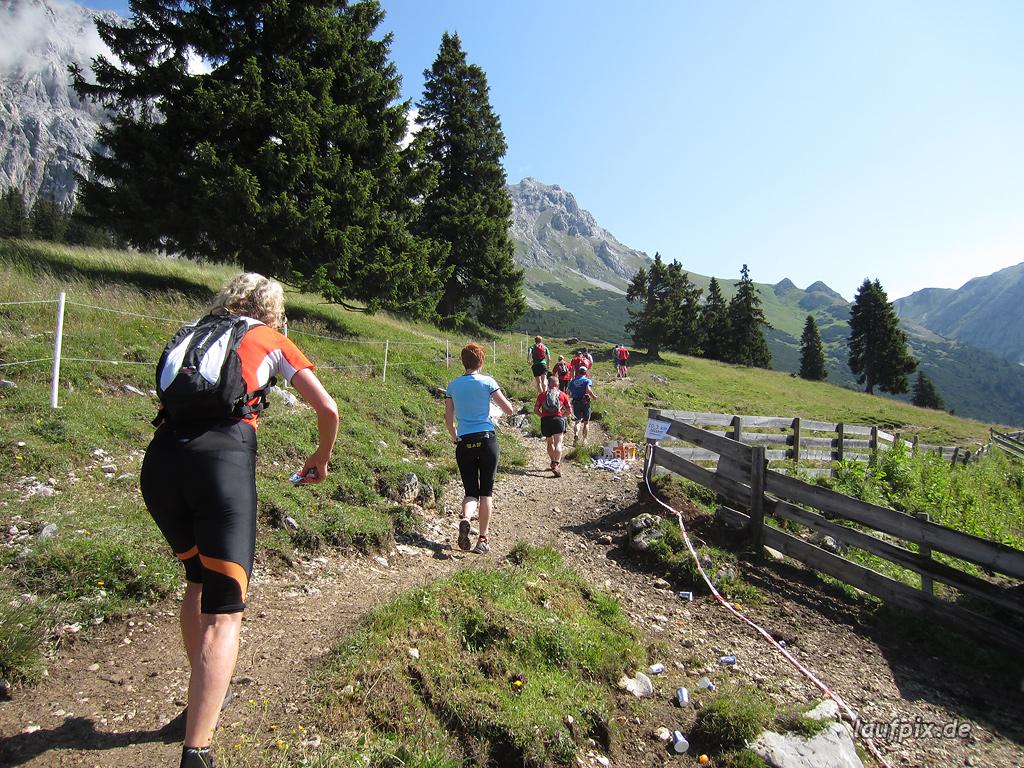 Zugspitzlauf Extremberglauf - Strecke 2011 - 75