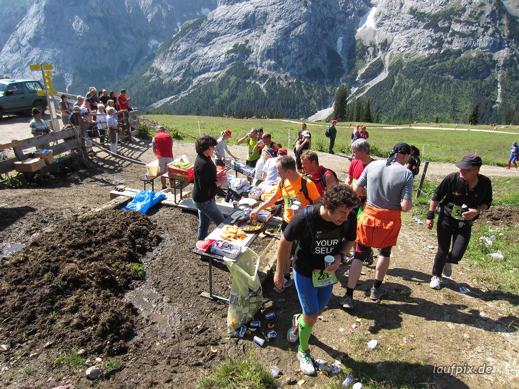 Zugspitzlauf Extremberglauf - Strecke 2011 - 77
