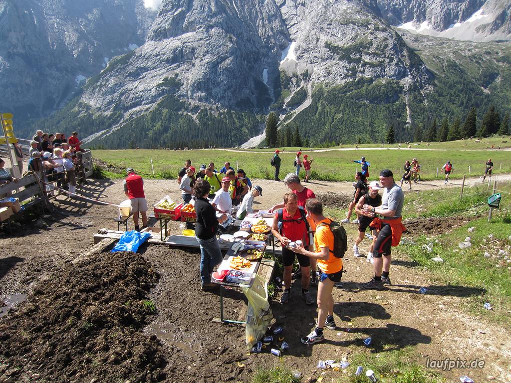 Zugspitzlauf Extremberglauf - Strecke 2011 - 78