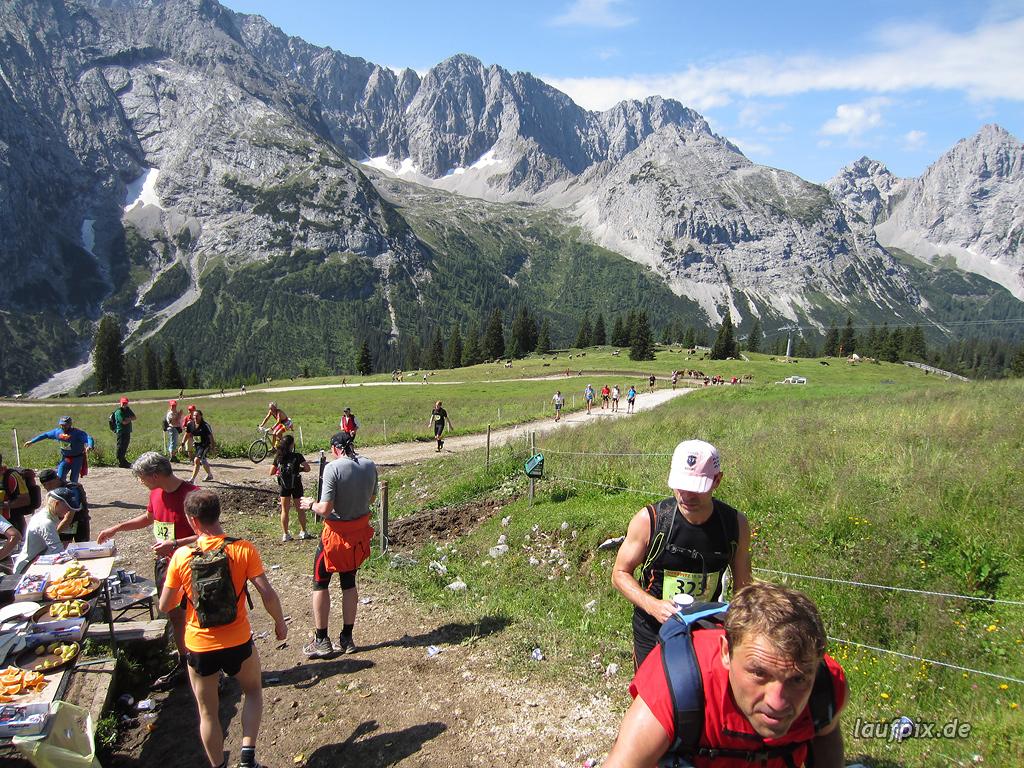 Zugspitzlauf Extremberglauf - Strecke 2011 - 79