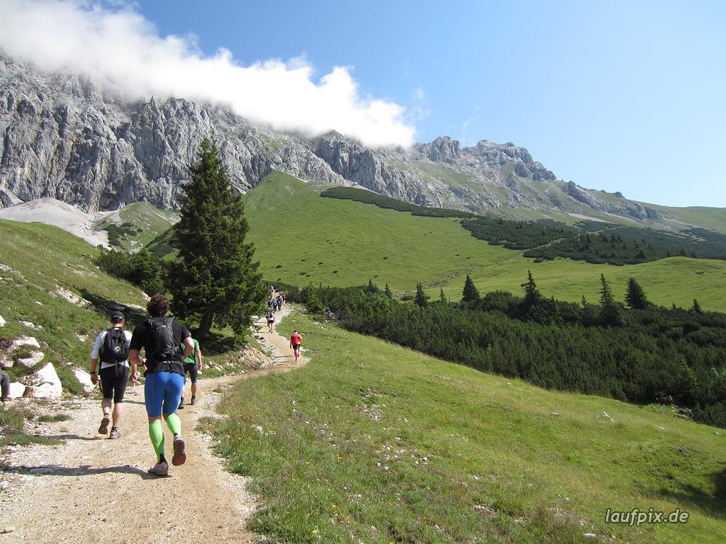 Zugspitzlauf Extremberglauf - Strecke 2011 - 82