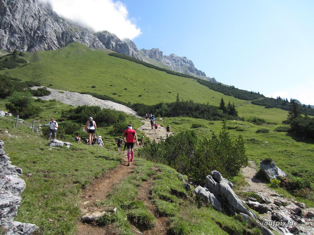 Zugspitzlauf Extremberglauf - Strecke 2011 - 85