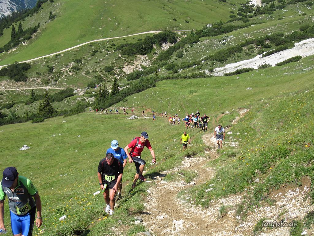 Zugspitzlauf Extremberglauf - Strecke 2011
