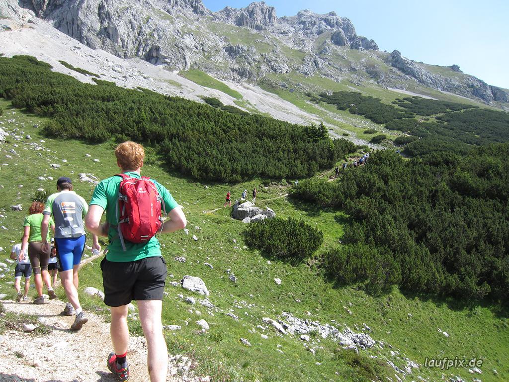 Zugspitzlauf Extremberglauf - Strecke 2011 - 93