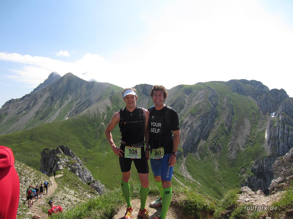 Zugspitzlauf Extremberglauf - Strecke 2011 - 106