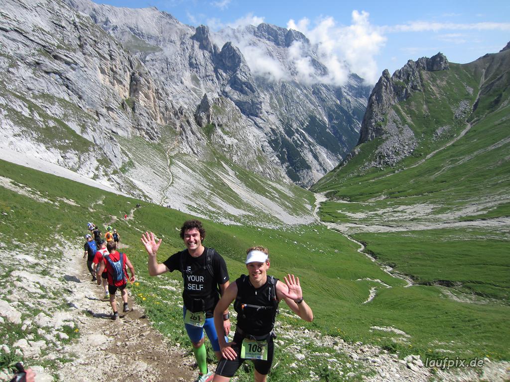 Zugspitzlauf Extremberglauf - Strecke 2011 - 122