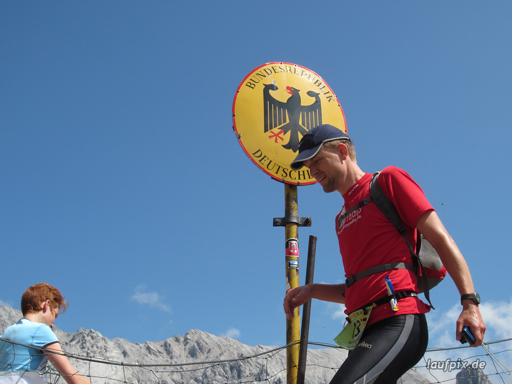 Zugspitzlauf Extremberglauf - Strecke 2011 - 129