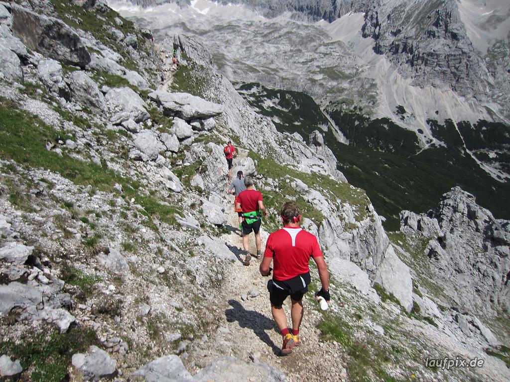 Zugspitzlauf Extremberglauf - Strecke 2011 - 131