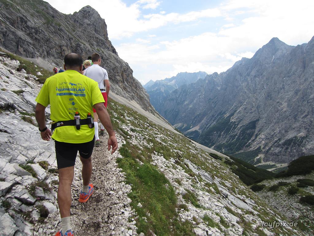 Zugspitzlauf Extremberglauf - Strecke 2011 - 170