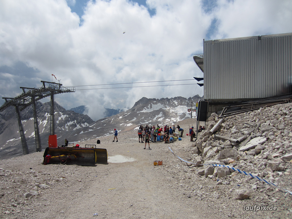 Zugspitzlauf Extremberglauf - Strecke 2011 - 266