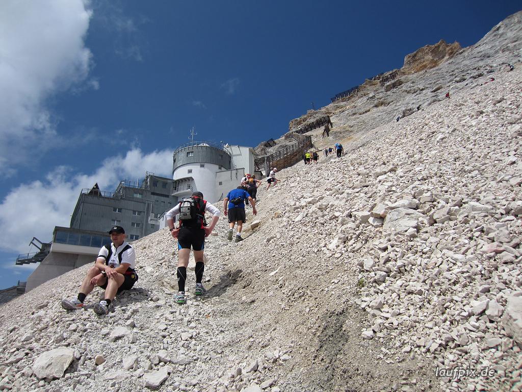 Zugspitzlauf Extremberglauf - Strecke 2011 - 271