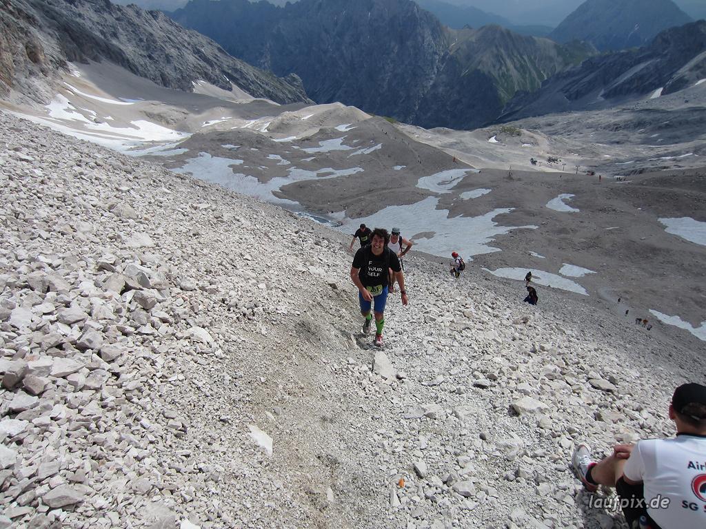 Zugspitzlauf Extremberglauf - Strecke 2011 - 272