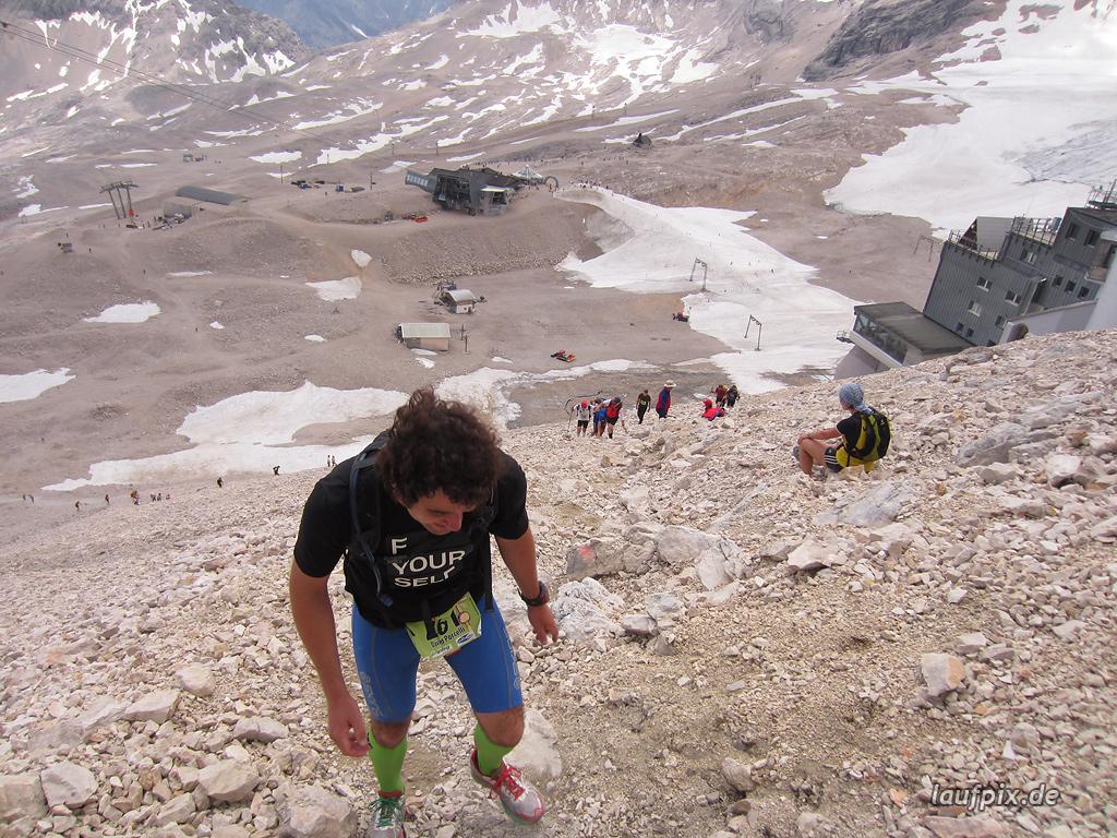 Zugspitzlauf Extremberglauf - Strecke 2011 - 273