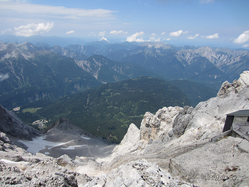 Zugspitzlauf Extremberglauf - Strecke 2011 - 281