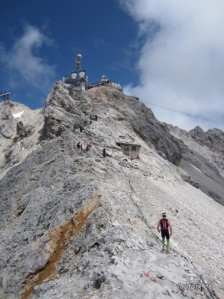 Zugspitzlauf Extremberglauf - Strecke 2011 - 282