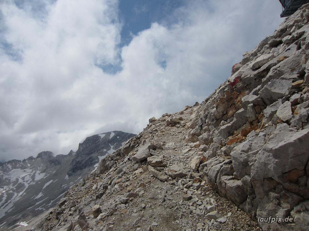 Zugspitzlauf Extremberglauf - Strecke 2011 - 283