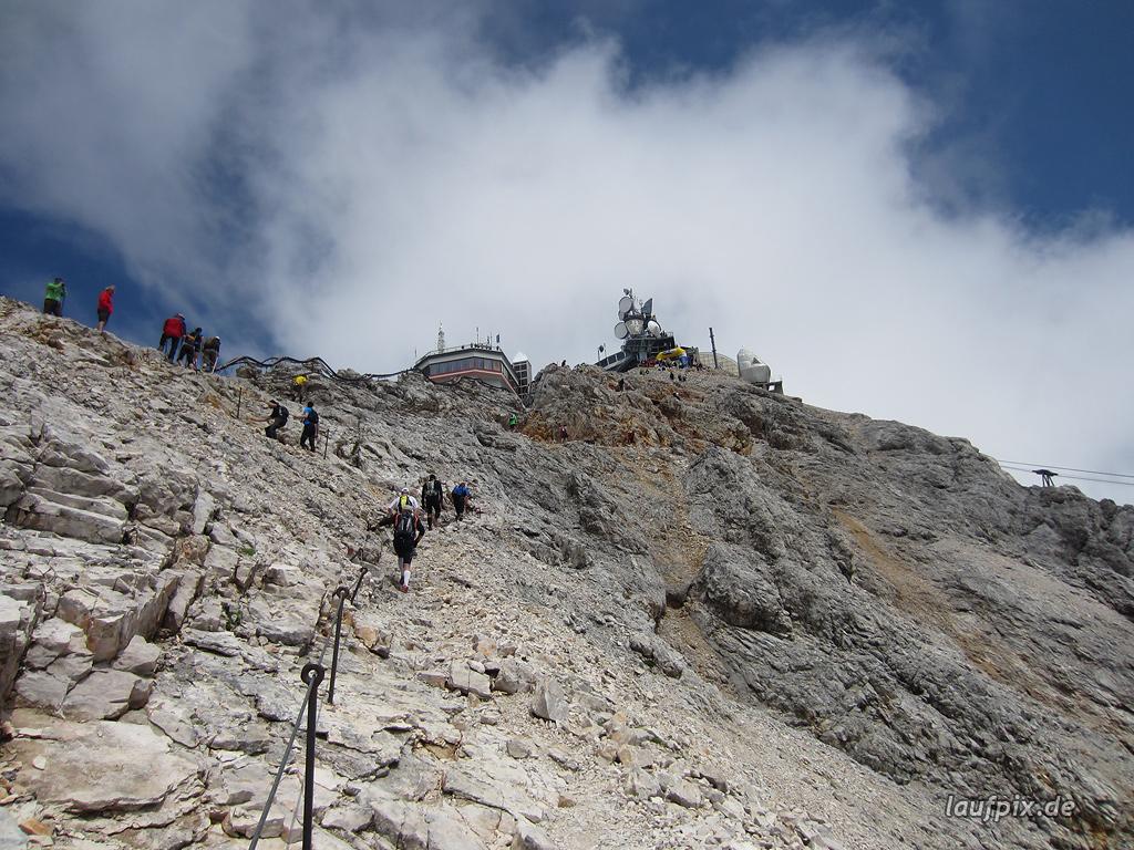 Zugspitzlauf Extremberglauf - Strecke 2011 - 284